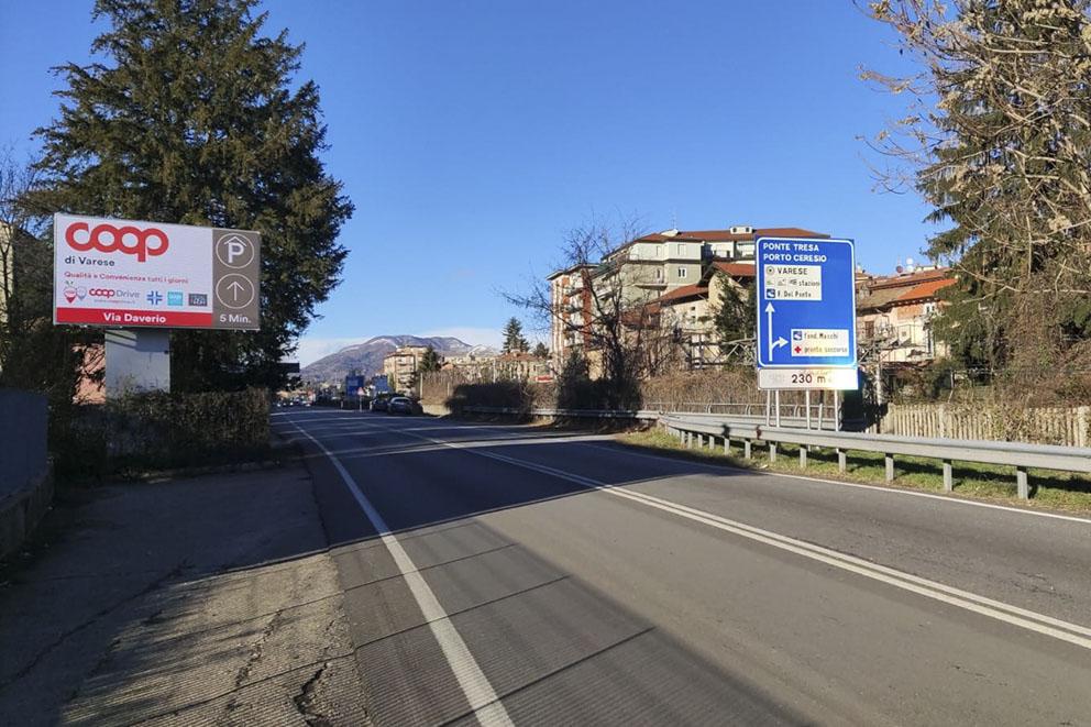 Display LED Varese